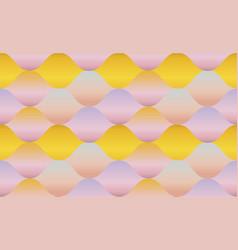 tender color gradient concept geometry pattern vector image