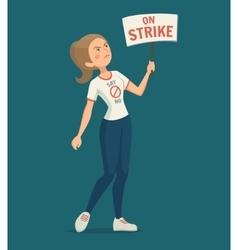 Walkout Woman vector