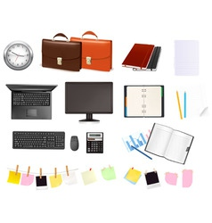 super mega set business elements3 vector image