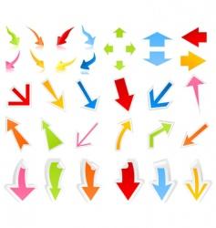 arrow9 vector image vector image