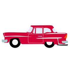 vintage luxury auto vector image