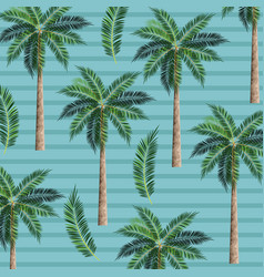 palms trees background vector image