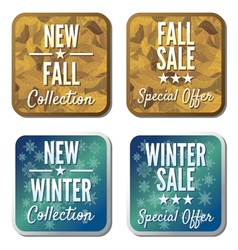Sale collection vector image vector image