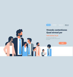Business people group communication concept couple vector