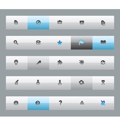 Buttons for education vector