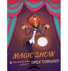 Magic Show Poster vector
