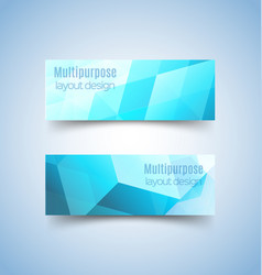 multipurpose layout design 6 vector image