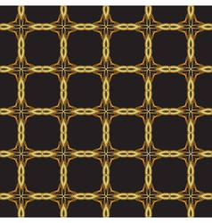 seamless gold lattice vector image