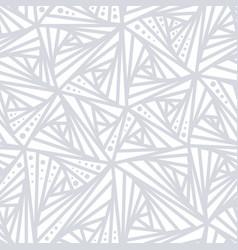 Seamless light geometric pattern vector