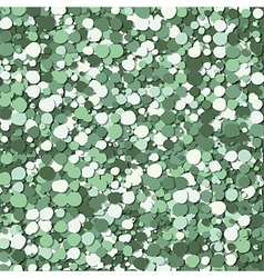 abstract green bubbles vector image vector image