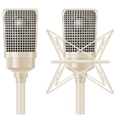 microphone 03 vector image vector image