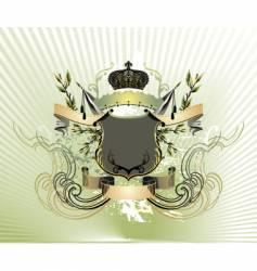 royal vintage illustration vector image vector image
