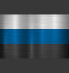estonia official flag vector image