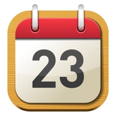 Calendar Date vector