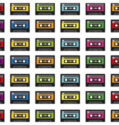 Cassette icon design vector