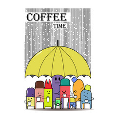 Coffe vector