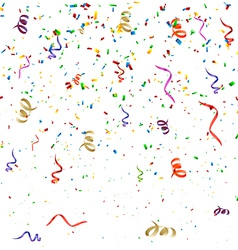 Confetti Birthday Background vector