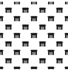 Garage pattern simple style vector