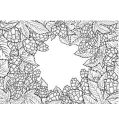 graphic hop design vector image