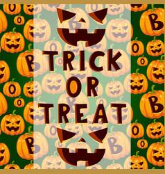 halloween party celebration invitation card vector image