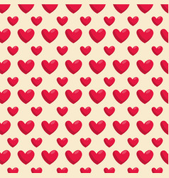 heart shape and love symbol background vector image