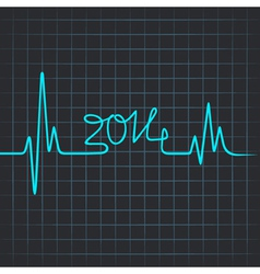 Heartbeat make 2014 vector