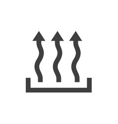 heat icon images vector image