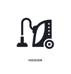 Hoover isolated icon simple element from cleaning vector