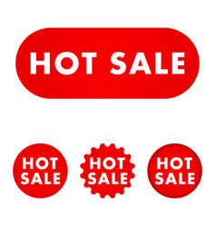 Hot sale button vector