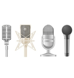 microphone 05 vector image