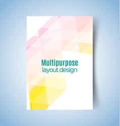 Multipurpose layout design6 vector