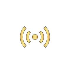 network computer symbol vector image