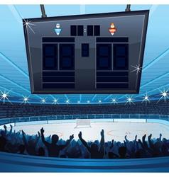 Sports stadiums vector image