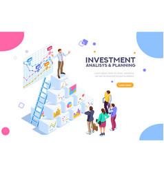 virtual finance vector image