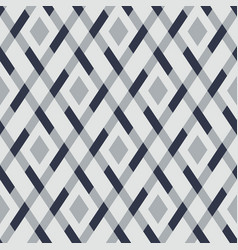 geometric seamless argyle pattern vector image vector image