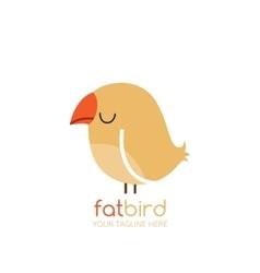 Bird logo design template vector image vector image