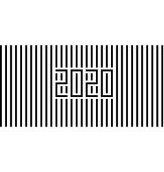 2020 strips black vector