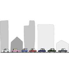 Activities during traffic jam vector
