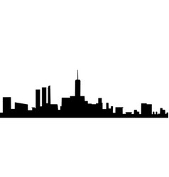city figure vector image