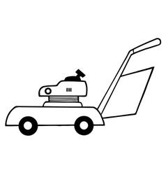 Gardening cartoon equipment vector