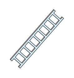 ladder tool isolated vector image