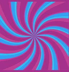 Swirl radial pattern backgrounds vector