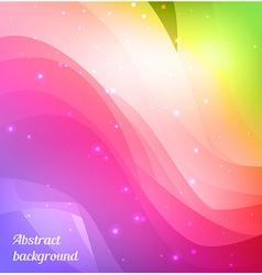 Bright spectrum background vector image vector image