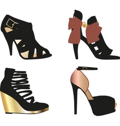 Glamour Shoes vector image vector image