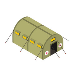 Army camp vector