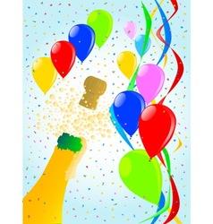 Balloon Party vector