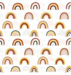 Barainbow seamless pattern vector