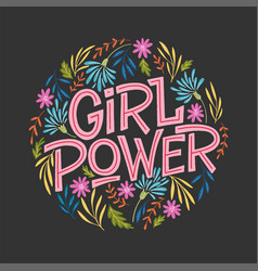 girl power vector image