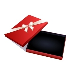Jewelry gift box vector