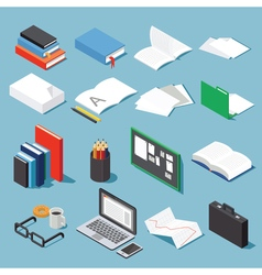 Office tools set 1 vector image